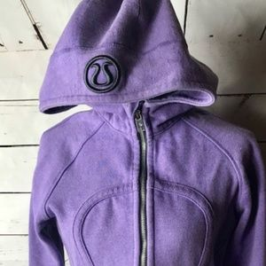 Lululemon 8 Scuba Hoodie with shimmer (Rare Find)